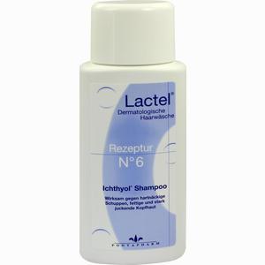 Abbildung von Lactel Rezeptur Nr.6 Ichthyol- Shampoo  100 ml