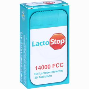 Abbildung von Lactostop 14000 Fcc Spender Tabletten 40 Stück
