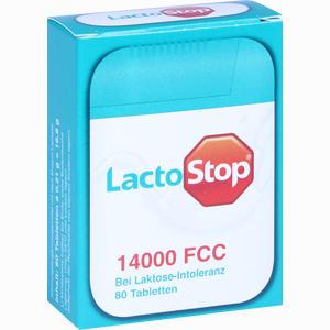 Abbildung von Lactostop 14000 Fcc Spender Tabletten 80 Stück