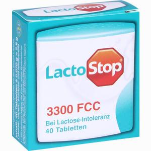 Abbildung von Lactostop 3.300 Fcc Tabletten  40 Stück