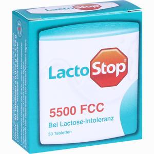 Abbildung von Lactostop 5.500 Fcc Tabletten im Klickspender  50 Stück