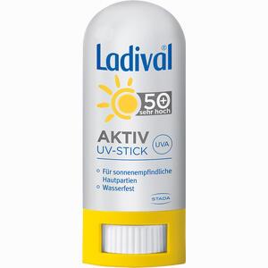 Abbildung von Ladival Aktiv Uv Schutzstift Lsf 50+  8 g