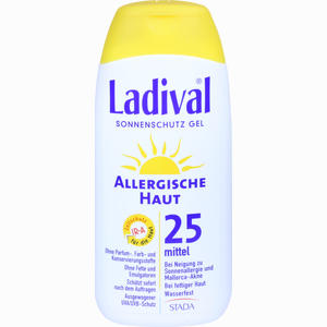 Abbildung von Ladival Allergische Haut Gel Lsf 25 200 ml