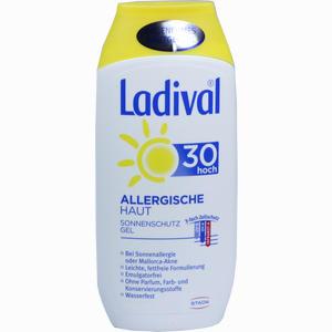Abbildung von Ladival Allergische Haut Gel Lsf 30 200 ml