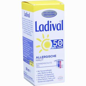 Abbildung von Ladival Allergische Haut Lsf 50+ Gel 50 ml