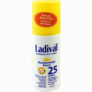 Abbildung von Ladival Allergische Haut Spray Lsf 25  150 ml