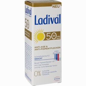 Abbildung von Ladival Anti- Age & Anti- Pigmentflecken Gesicht Lsf50+ Creme 50 ml