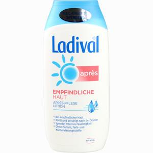 Abbildung von Ladival Apres Empfindliche Haut Lotion 200 ml