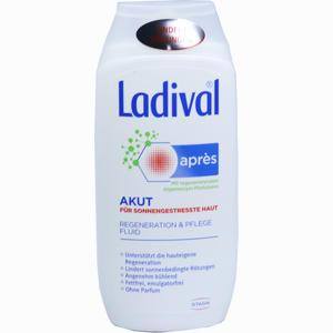 Abbildung von Ladival Apres Pflege Akut Beruhigungs Fluid Gel 200 ml