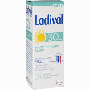 Abbildung von Ladival Mattierendes Fluid Gesicht Lsf30 Creme 50 ml