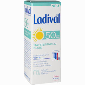 Abbildung von Ladival Mattierendes Fluid Gesicht Lsf50+ Creme 50 ml