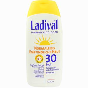 Abbildung von Ladival Normale Bis Empfindliche Haut Lotion Lsf 30  200 ml