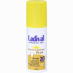 Abbildung von Ladival Schutz & Bräune Plus Sonnenschutz Spray Lsf20  150 ml