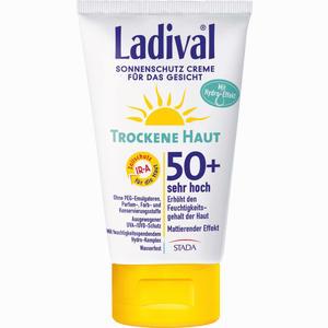 Abbildung von Ladival Trockene Haut Creme für Das Gesicht Lsf 50+  75 ml