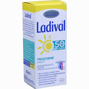 Abbildung von Ladival Trockene Haut Lsf 50+  50 ml