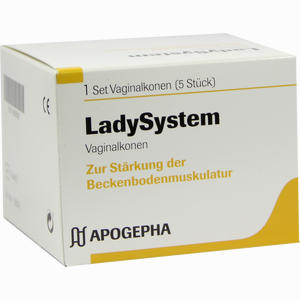 Abbildung von Ladysystem Vaginalkonen Set 1 Stück