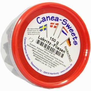 Abbildung von Lakritz- Fliesen zuckerfrei Canea 150 g