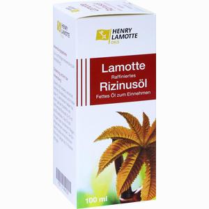 Abbildung von Lamotte Raffiniertes Rizinusöl H.v. Öl 100 ml