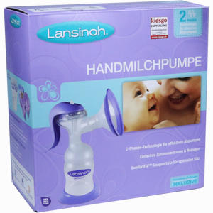 Abbildung von Lansinoh Handmilchpumpe (weithals) 1 Stück