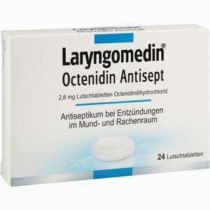 Abbildung von Laryngomedin Octenidin Antisept 2.6 Mg Lutschtabletten  24 Stück