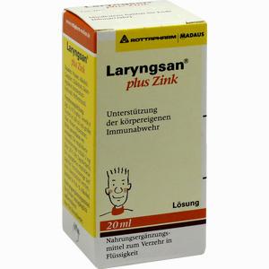 Abbildung von Laryngsan Plus Zink Lösung 20 ml