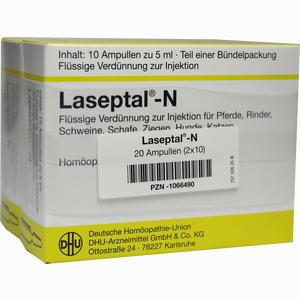 Abbildung von Laseptal- N Vet. Injektionslösung 2 x 10 x 5 ml