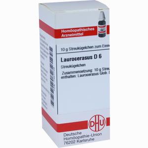 Abbildung von Laurocerasus D6 Globuli 10 g