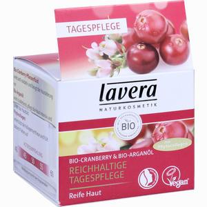 Abbildung von Lavera reichhaltige Tagespflege Cranberry Tagescreme 50 ml