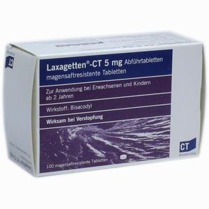 Abbildung von Laxagetten - Ct Abführtabletten Lta 100 Stück