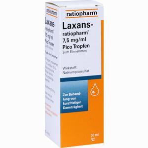 Abbildung von Laxans- Ratiopharm 7.5mg/ml Pico Tropfen  30 ml