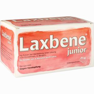 Abbildung von Laxbene Junior 4g Pulver  50 Stück