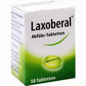 Abbildung von Laxoberal Abführ Tabletten  50 Stück