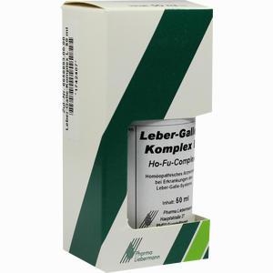 Abbildung von Leber- Galle- Komplex L Ho- Fu- Complex Tropfen 50 ml