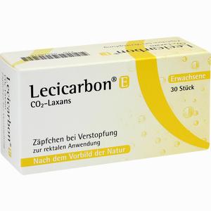 Abbildung von Lecicarbon E Co2- Laxans Zäpfchen 30 Stück