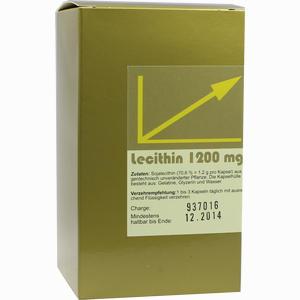 Abbildung von Lecithin Kapseln Aalborg pharma 100 Stück