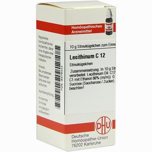 Abbildung von Lecithinum C12 Globuli  10 g