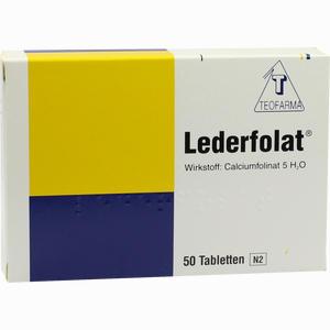 Abbildung von Lederfolat Tabletten  50 Stück