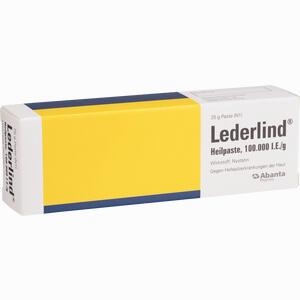 Abbildung von Lederlind Heilpaste  25 g