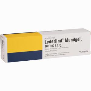 Abbildung von Lederlind Mundgel Gel 50 g