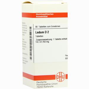 Abbildung von Ledum D2 Tabletten 80 Stück