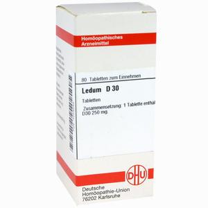 Abbildung von Ledum D30 Tabletten 80 Stück