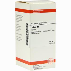 Abbildung von Ledum D6 Tabletten 200 Stück