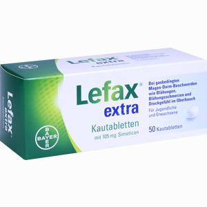Abbildung von Lefax Extra Kautabletten 50 Stück