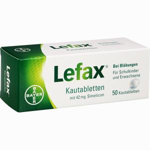 Abbildung von Lefax Kautabletten 50 Stück