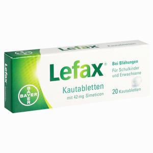 Abbildung von Lefax Kautabletten 20 Stück