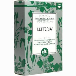 Abbildung von Lefteria Tabletten 100 Stück