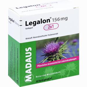 Abbildung von Legalon 156 Mg Hartkapseln 30 Stück