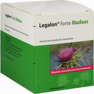 Abbildung von Legalon Forte Madaus Hartkapseln 100 Stück