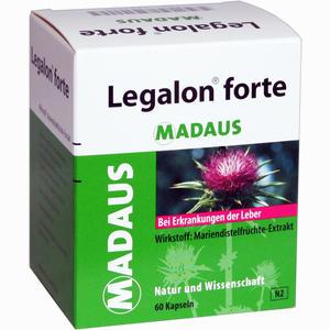 Abbildung von Legalon Forte Madaus Kapseln  60 Stück