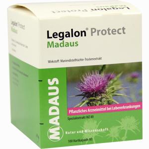 Abbildung von Legalon Protect Madaus Kapseln 100 Stück